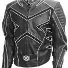 Wolverine Black & White Fashion X-Men Leather Jacket