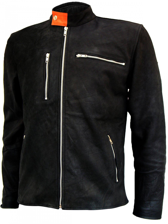 Classic Vintage Leather Jacket for Men - Avon