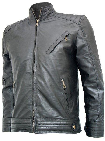 Jeremy Renner Black Bourne Legacy Leather Jacket