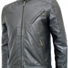 Jeremy Renner Black Bourne Legacy Leather Jacket