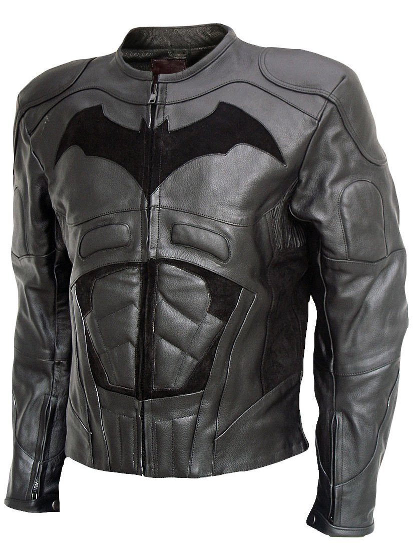 The Dark Knight Rises (2012) Black Leather Christian Bale Jacket