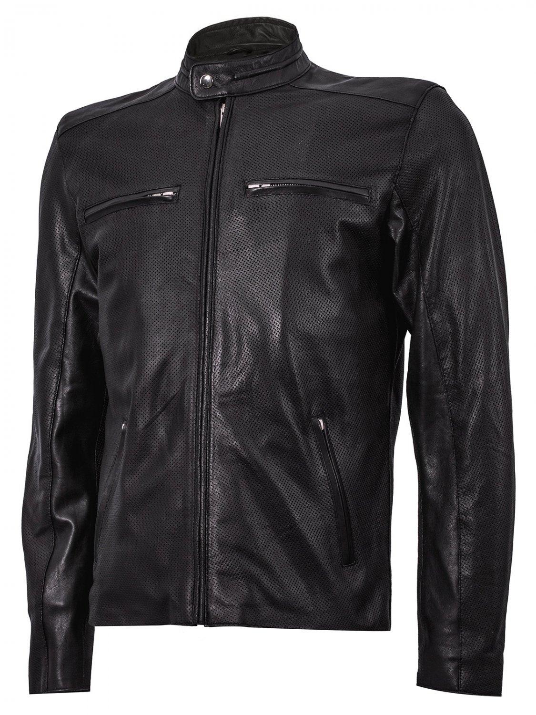 Summer Jacket - Cafe Racer Jacket in Black