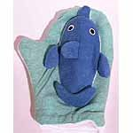 3d Animal Mitt - Dolphin