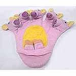 5 Finger Piggy Puppet Mitt