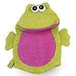 Bath Mitt Friend - Frog