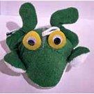 Terry Cloth Frog Sponge