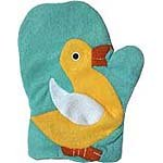 Children's Bath Mitt - Duck