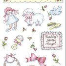 Baby Girl Scrapbook Stickers