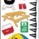 NASCAR - Tent 3D STICKER Scrapbook Sticker