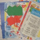 School 12x12 scrapbook kit