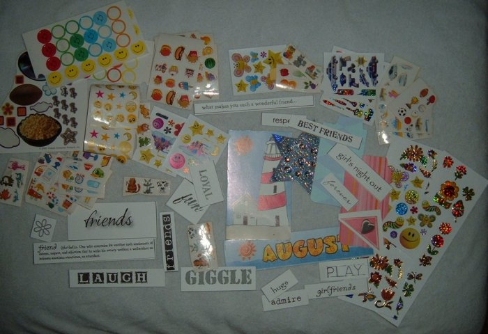 A Bag of Stickers and Stuff