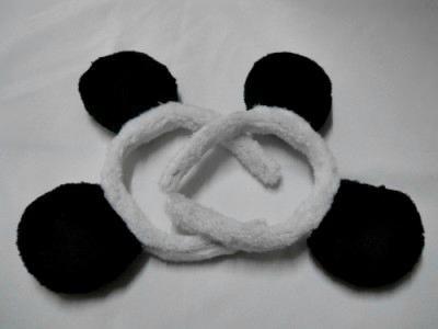 Panda Ear Headbands