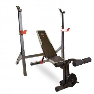 CAP Barbell Olympic Multi-position Bench with Detachable Squat Station