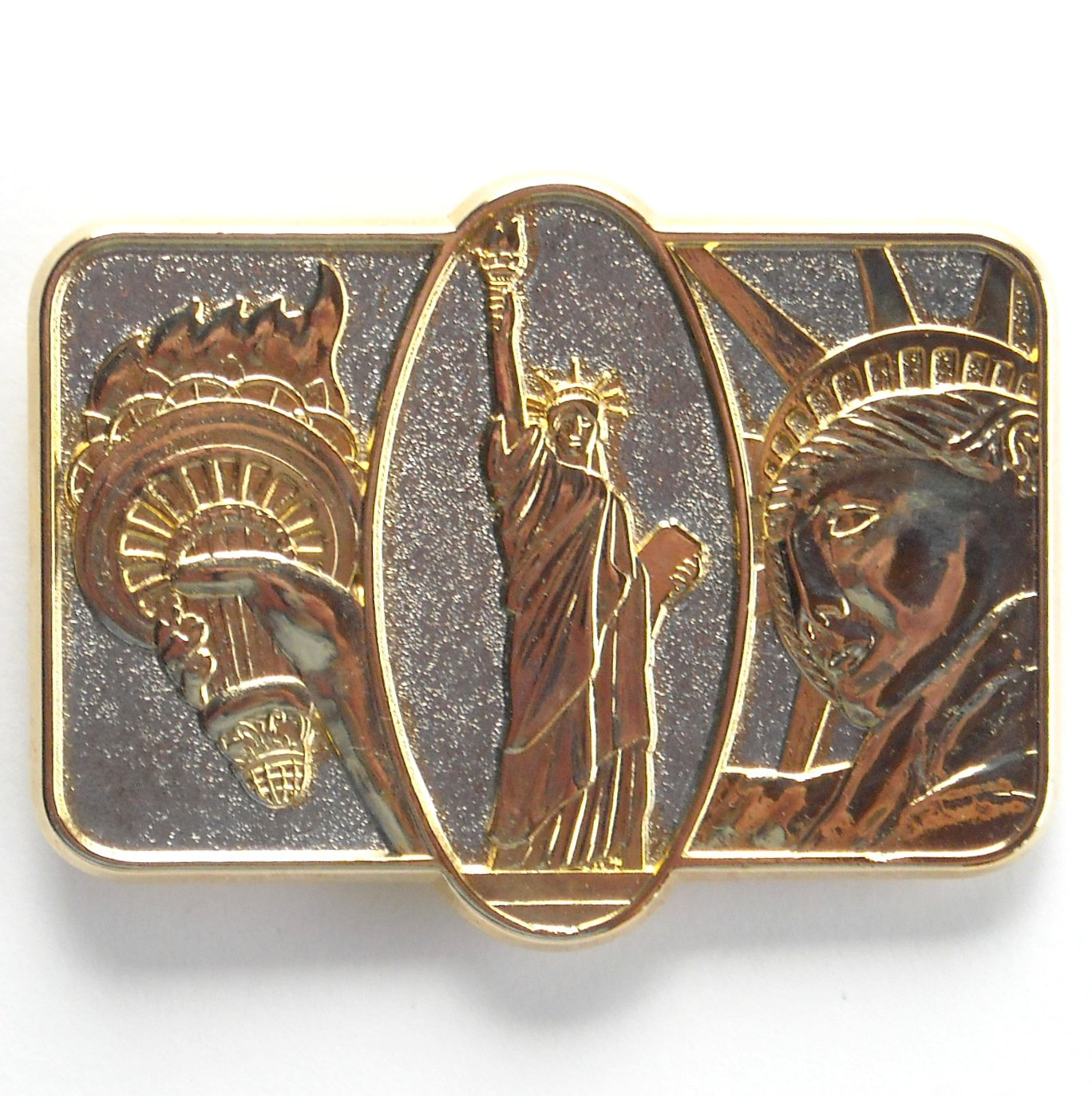 Official Statue Of Liberty Seville Collection Belt Buckle