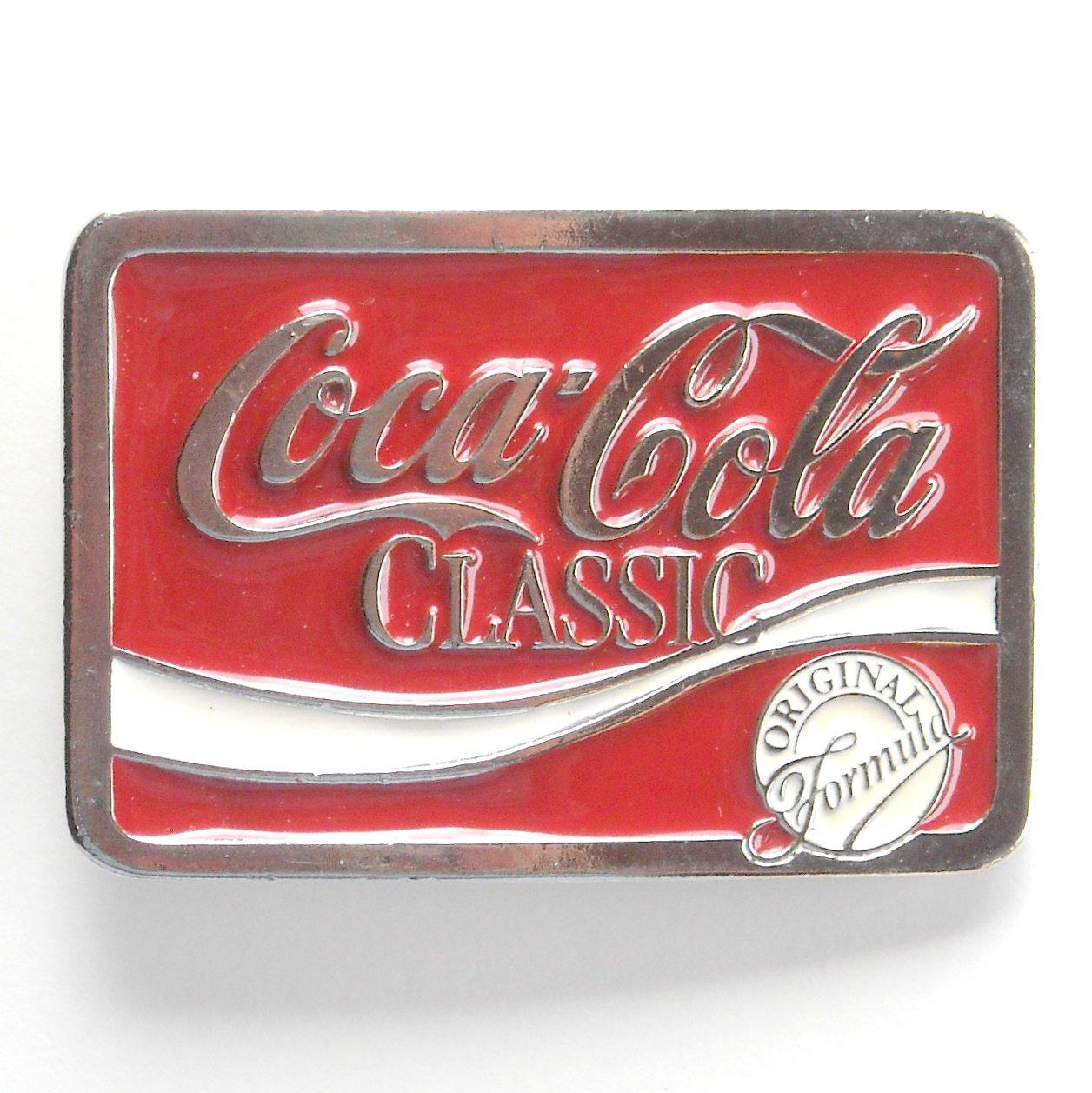 Coca Cola Classic Original Formula belt buckle