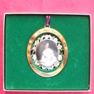 Christmas 1993 The White House Historical Association 24k Gold Finish ornament