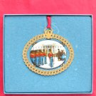 Christmas 1994 The White House Historical Association 24k Gold Finish ornament