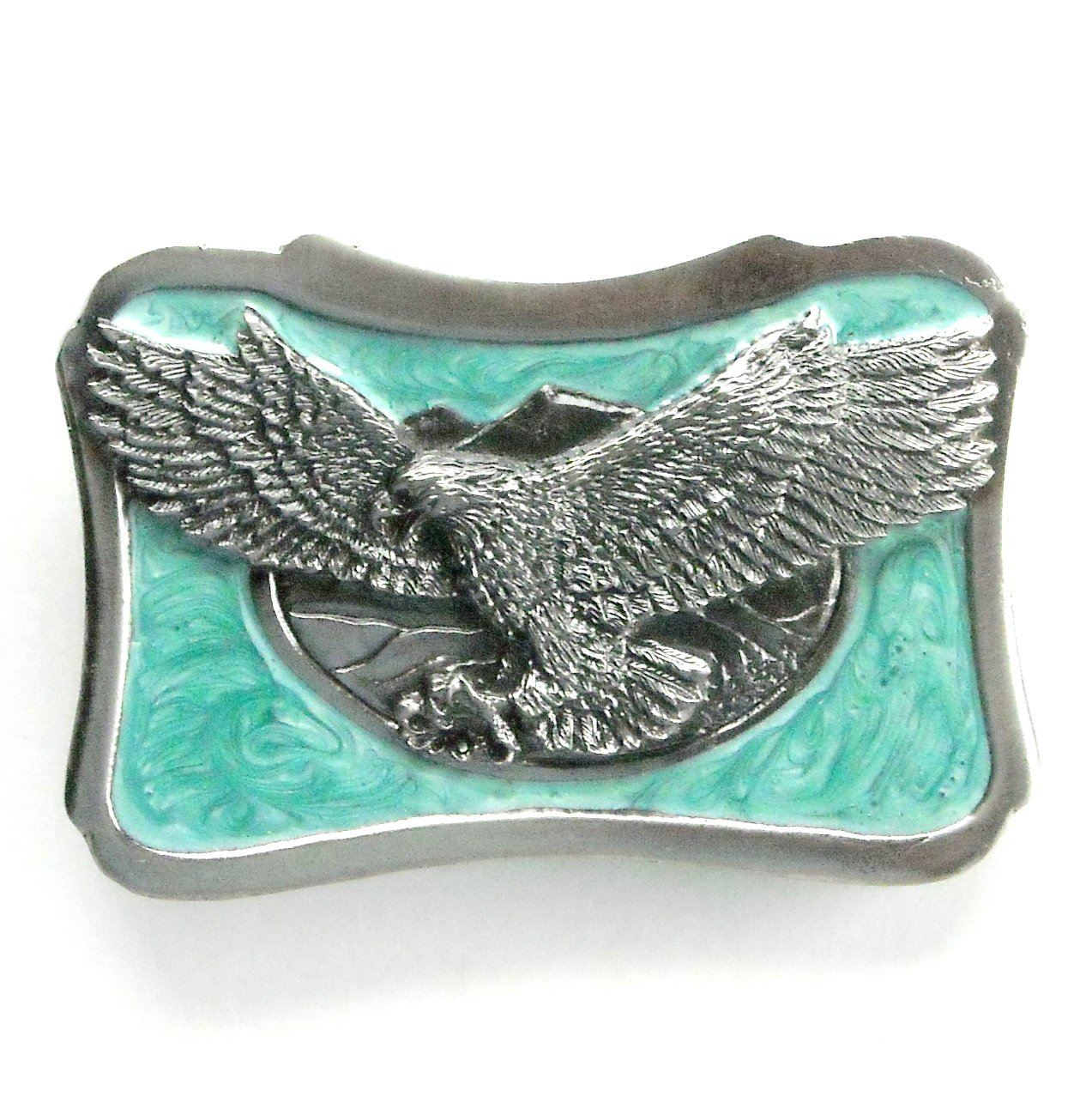 Mountain Landing Eagle 3D Katz metal alloy belt buckle