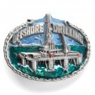 Offshore Drilling 3D Great American Belt Buckle