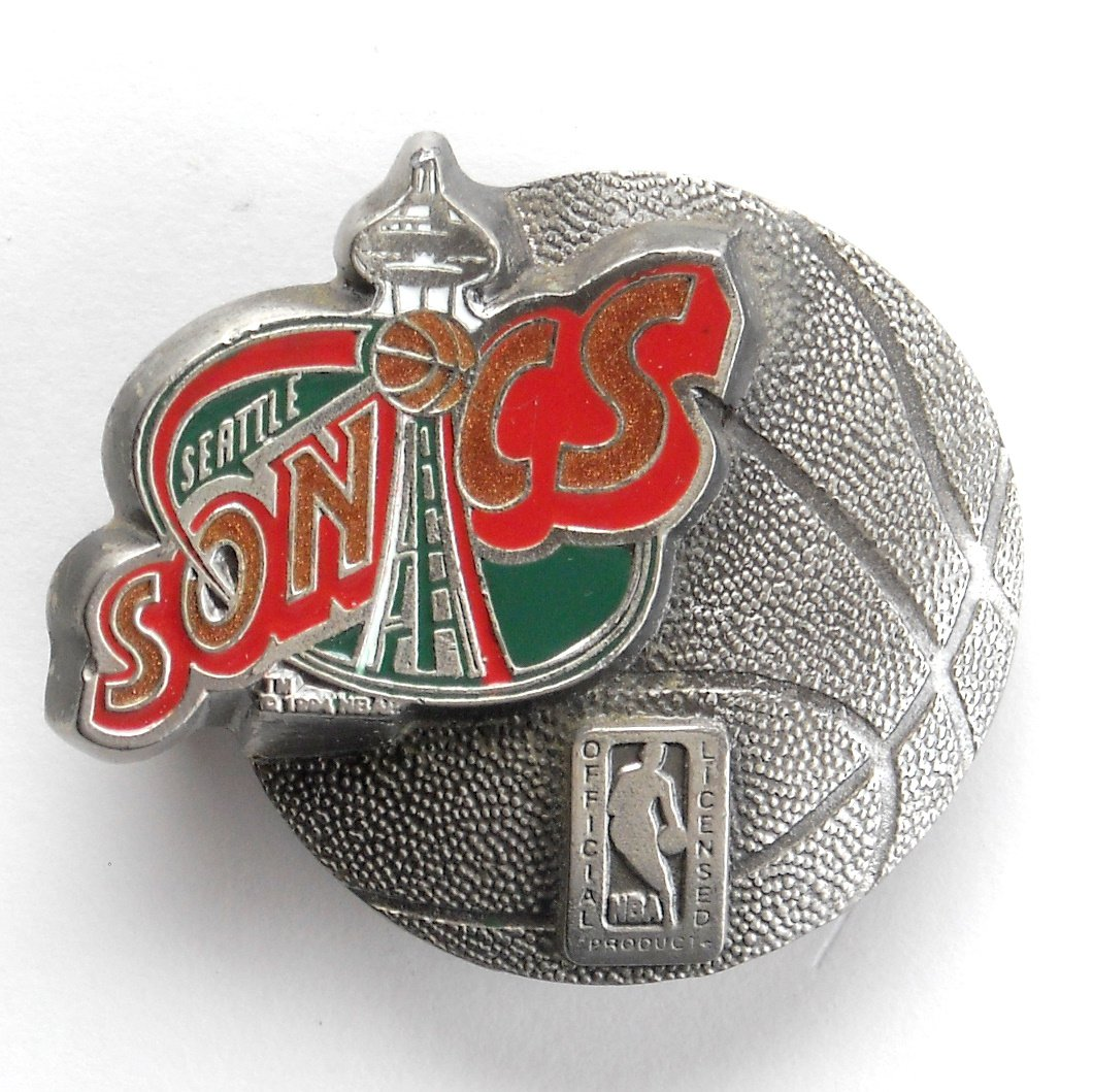 Seattle Sonics Official Licensed Great American GAP belt buckle