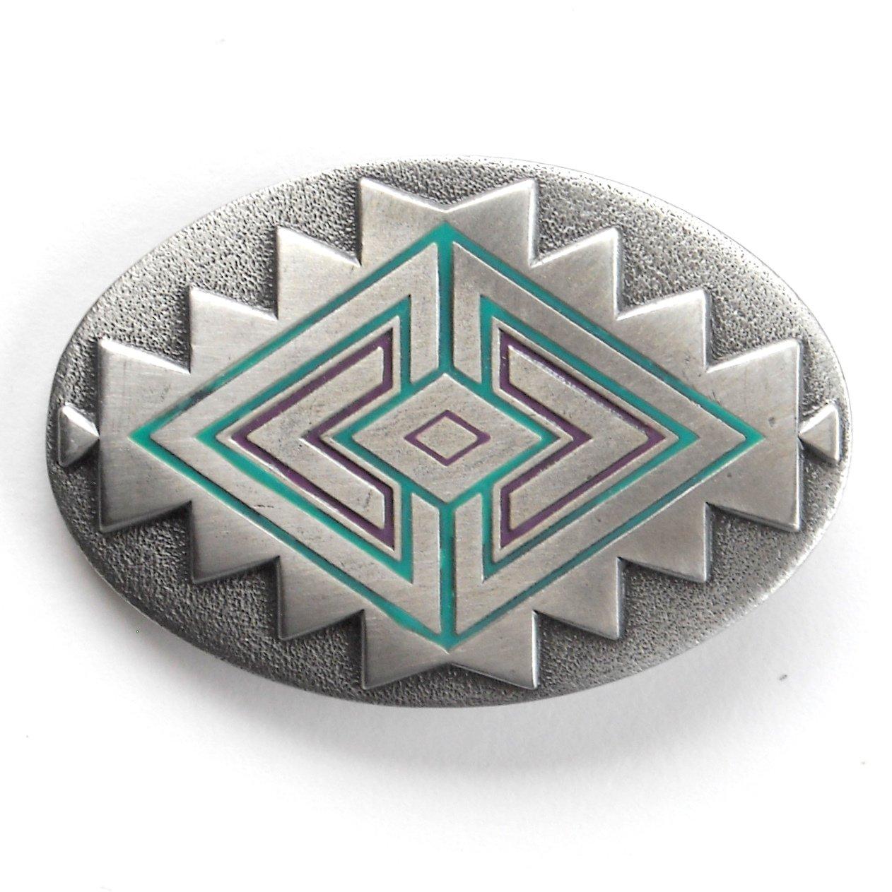 Southwest Native American Design Great American GAP Belt Buckle