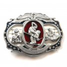 Championship Wrestling 3D Giant Oversized Supersized Bergamot Belt Buckle
