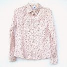 Gap Womens Long Sleeve Button Down Blouse Shirt Top size M