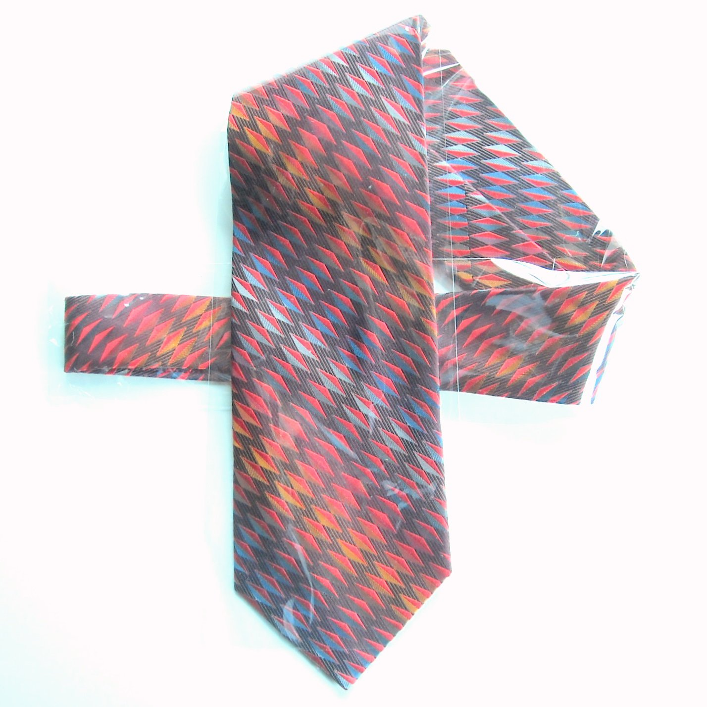 Vintage Meeting Street Hand Made mens silk necktie tie