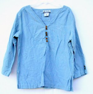 Columbia Sportswear Womens cotton shirt top size PM
