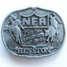 Vintage National Finals Rodeo NFR 1983 Belt Buckle