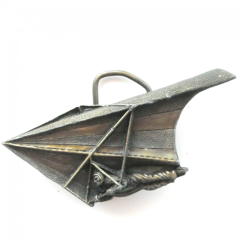 Hang Glider RARE Vintage Bergamot 3D Belt Buckle