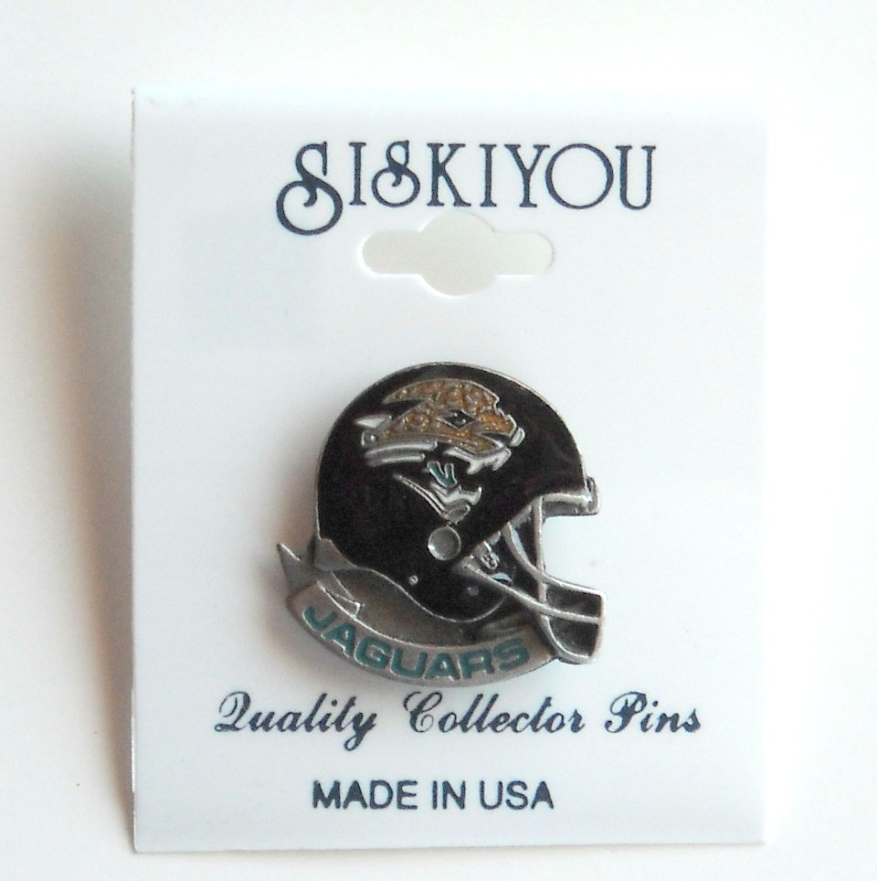 Siskiyou Jacksonville Jaguars Helmet Pewter Tie Tac Hat Lapel Pin