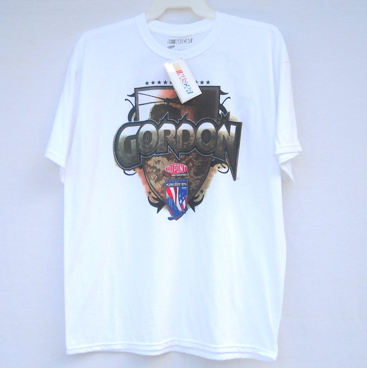 Gordon #24 Dupont Nascar Winners Circle T Shirts size XL