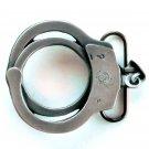 Handcuffs Vintage Bergamot Pewter Belt Buckle