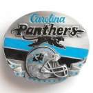 Carolina Panters Team NFL Siskiyou pewter belt buckle