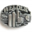 Welder Siskiyou pewter belt buckle