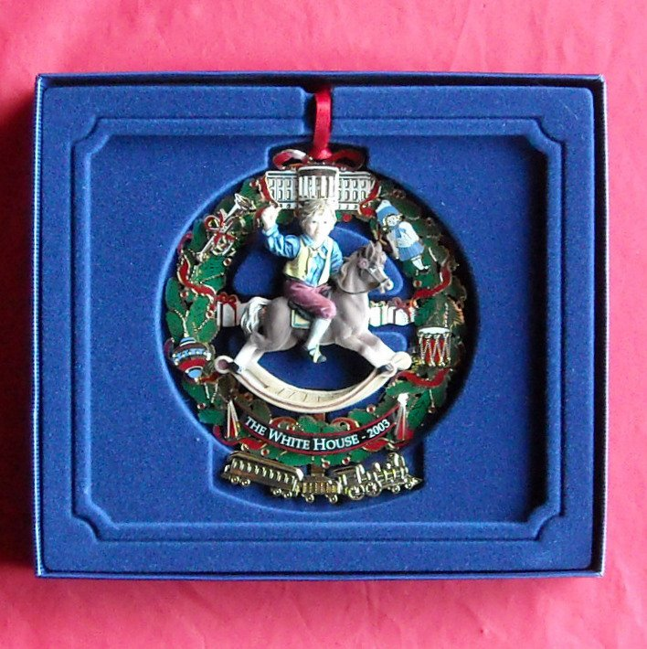 The White House Christmas 2003 Historical Association ornament