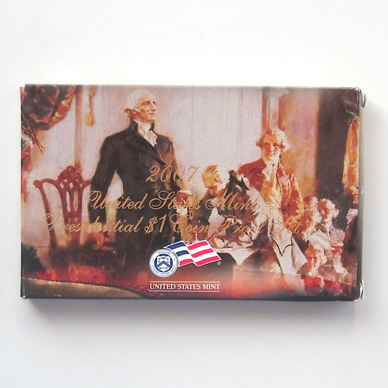 2007 United States Mint Presidential $1 Coins Proof Set