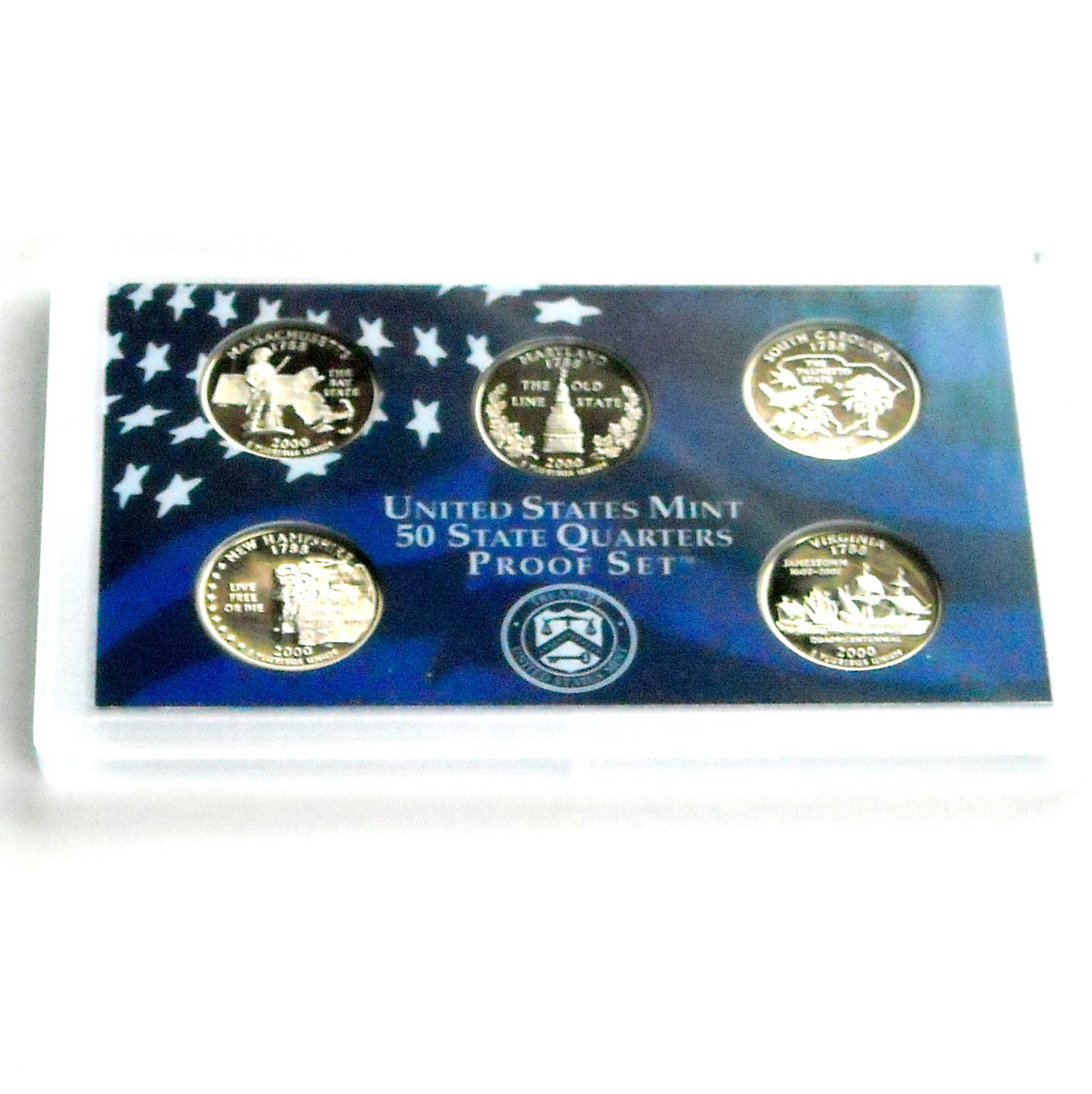 United States Mint 50 State Quarters Proof Set 2000