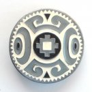 Native American Design Siskiyou Pewter Round Belt Buckle