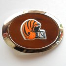 Cincinnati Bengals NFL Silver Color Belt Buckle