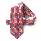 Dimitrius Vintage Modern Design mens Silk necktie tie