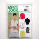 Simplicity New Look Misses Tops Six Sizes In One Size 8 10 12 14 16 18 Sewing Pattern 6952