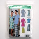 Pants Fleece Tops Simplicity New Look Sewing Pattern 6858