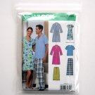 Pants Fleece Tops Simplicity New Look Sewing Pattern 6858