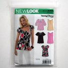 Simplicity New Look Misses Tops Six Sizes In One Size 8 10 12 14 16 18 Sewing Pattern 6807