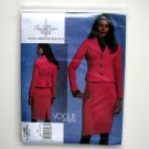 Misses Jacket Skirt 16 18 20 22 Tracy Reese Vogue Sewing Pattern V1126