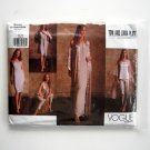 Misses Kimono Dress Top 6 8 10 Tom Linda Platt Vogue Sewing Pattern 2500