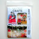 McCalls Crafts 2010 Aprons Mitt Christmas Decorations Sewing Pattern M 6219