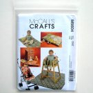 Baby Items Hanger Covers Bibb Mess Mat McCalls Crafts 2008 Sewing Pattern M5604